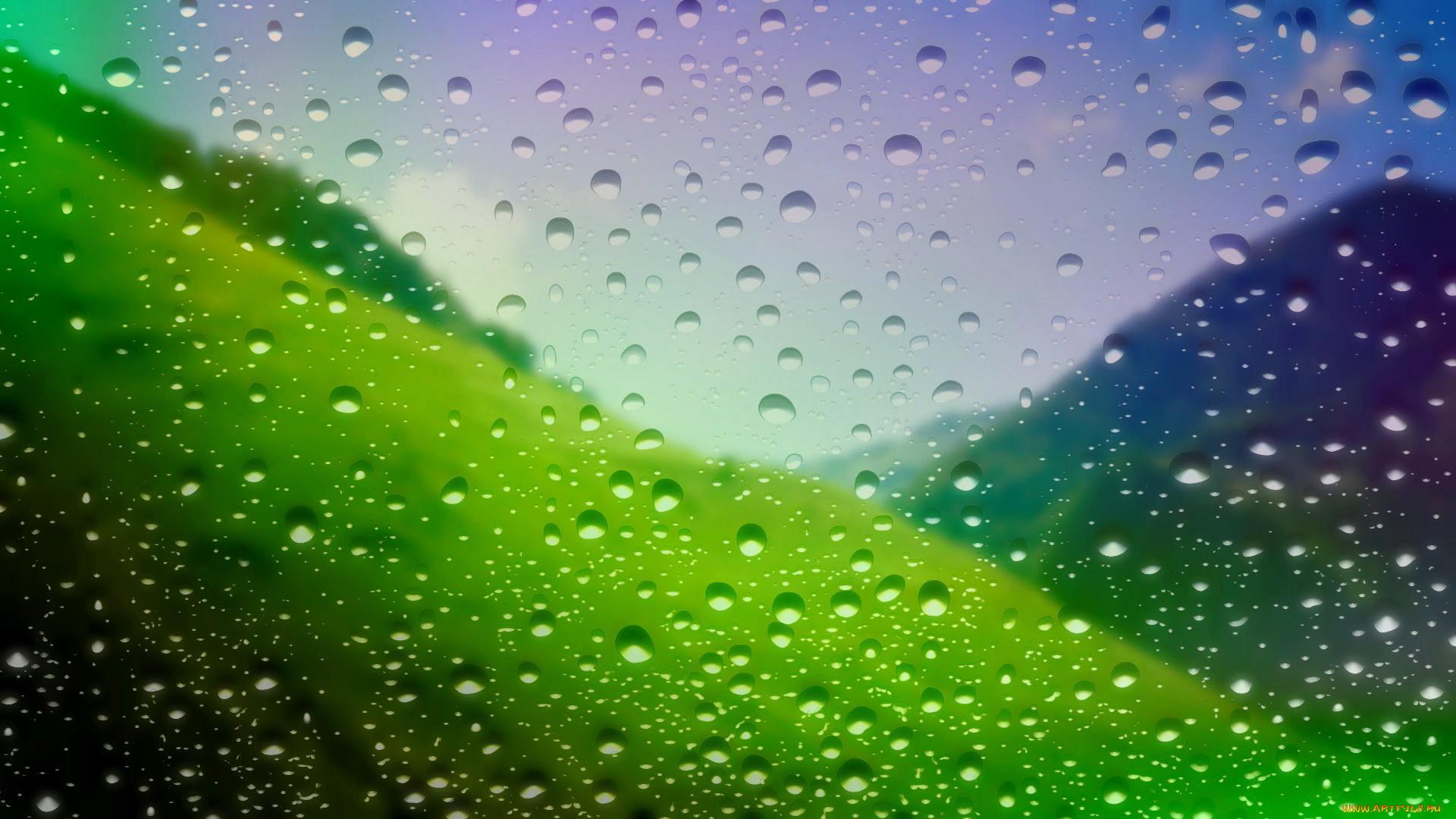 Как сделать фото капель дождя